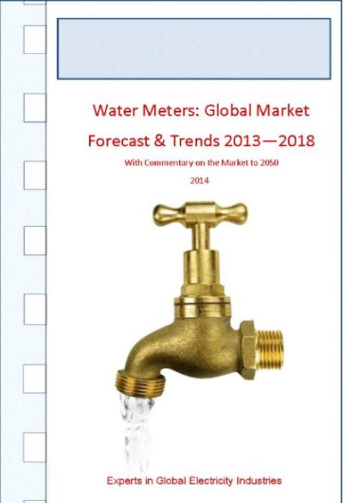 Water Meters: Global Market Forecasts & Trends 2013 - 2018 including Databases - Product Image