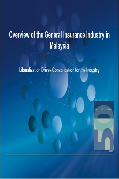 Overview of the General Insurance Industry in Malaysia - Product Image