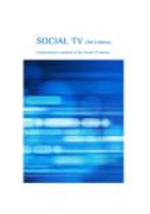Social TV (8th edition):  Comprehensive Analysis of the Social TV Market - Product Image