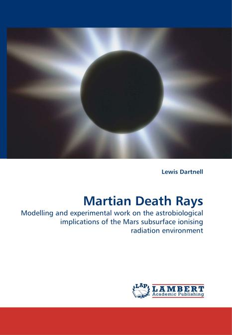 Martian Death Rays. Edition No. 1 - Product Image