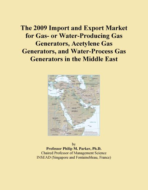 The 2009 Import and Export Market for Gas- or Water-Producing Gas Generators, Acetylene Gas Generators, and Water-Process Gas Generators in the Middle East - Product Image