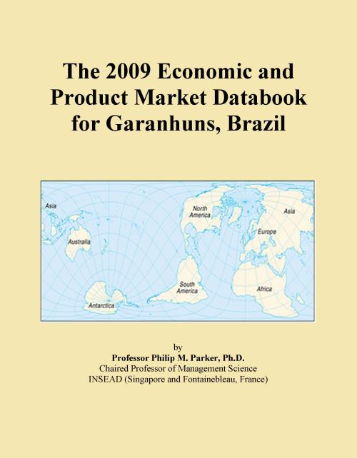 The 2009 Economic and Product Market Databook for Garanhuns, Brazil - Product Image