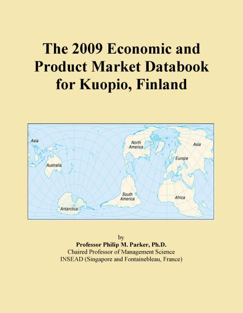 The 2009 Economic and Product Market Databook for Kuopio, Finland - Product Image