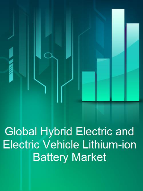 Global Hybrid Electric and Electric Vehicle Lithium-ion Battery Market - Product Image