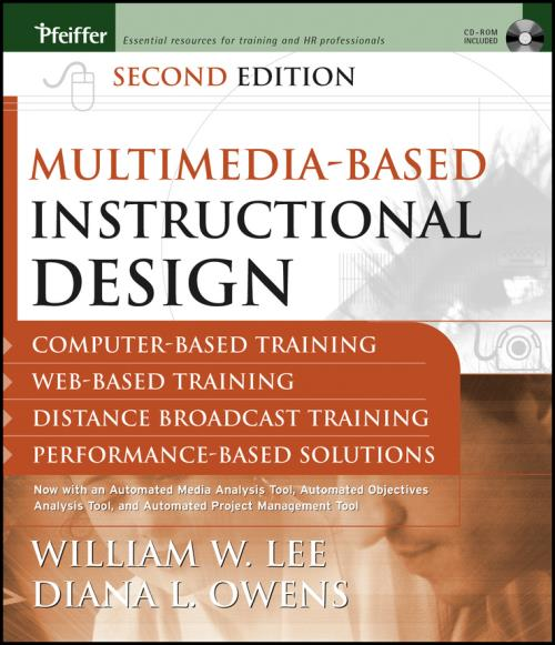 Multimedia-based Instructional Design. Computer-based Training, Web-based Training, Distance Broadcast Training, Performance-based Solutions. 2nd Edition - Product Image