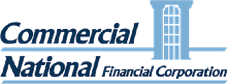 Commercial National Financial Corp - logo