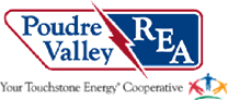 Poudre Valley Rural Electric Association - logo