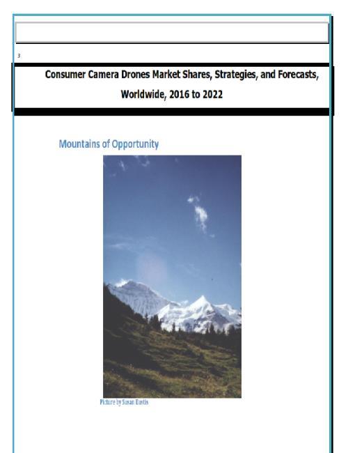 Morpho comprehensive report
