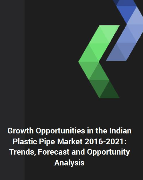 Growth Opportunities in the Indian Plastic Pipe Market 2016-2021: Trends,  Forecast and Opportunity Analysis