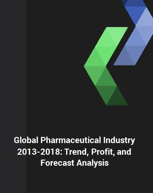 Global Pharmaceutical Industry 2013-2018: Trend, Profit, and Forecast  Analysis