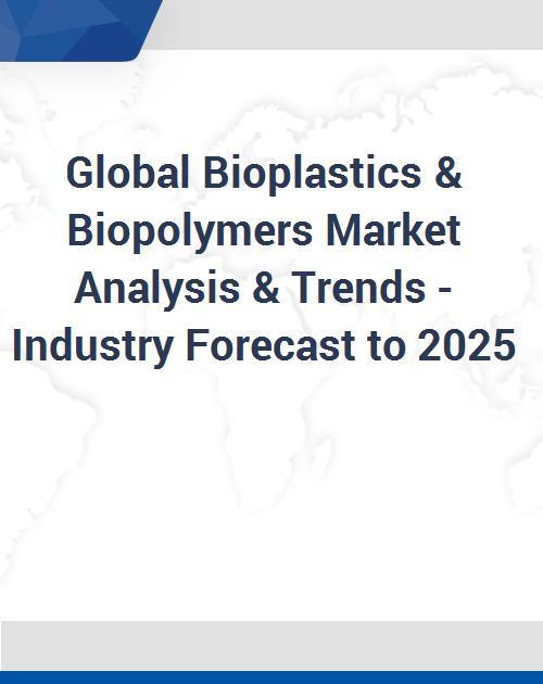 Global Bioplastics & Biopolymers Market Analysis & Trends - Industry  Forecast to 2025