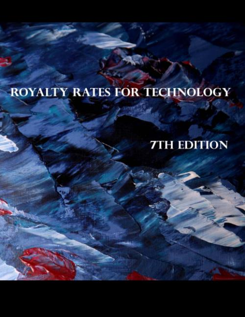 Royalty Rates for Technology, 7th Edition - Research and Markets