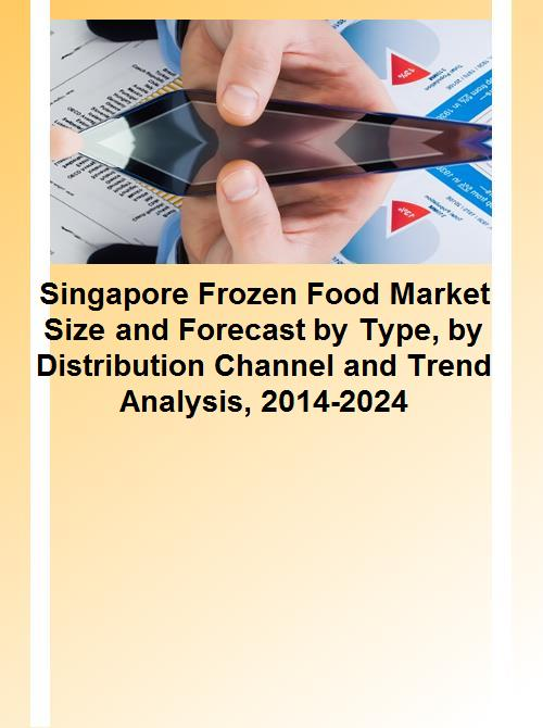 Singapore Frozen Food Market Size and Forecast by Type, by Distribution  Channel and Trend Analysis, 2014-2024