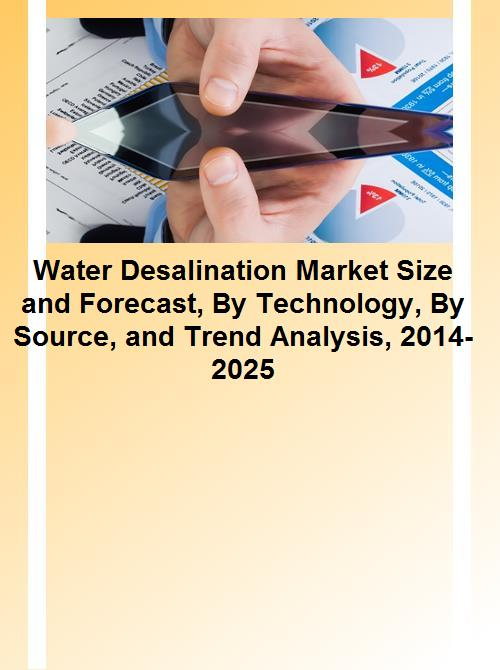 Water Desalination Market Size and Forecast, By Technology, By Source, and  Trend Analysis, 2014-2025
