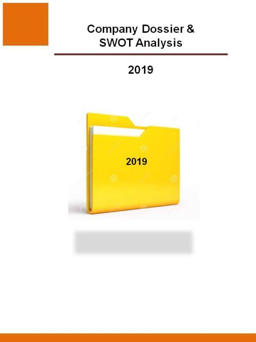 Sandvik AB - 2019 - Company Dossier and SWOT Analysis