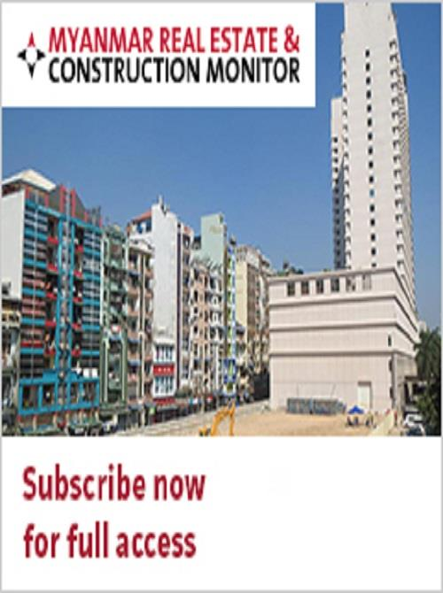 Myanmar Real Estate and Construction Monitor - Research and Markets