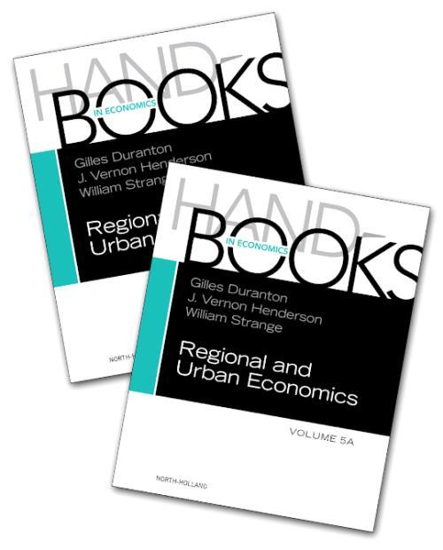 Handbook of Regional and Urban Economics, Vol 5A-5B
